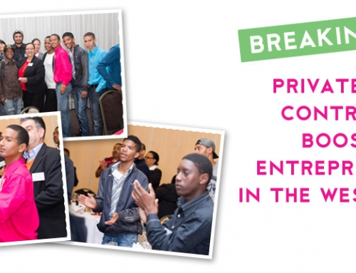 PRIVATE SECTOR CONTRIBUTION BOOST FOR ENTREPRENEURSHIP IN THE WESTERN CAPE!