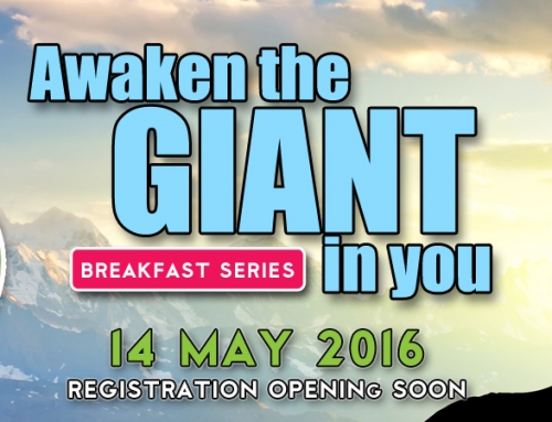 Awaken The Giant in You – 14 May 2016